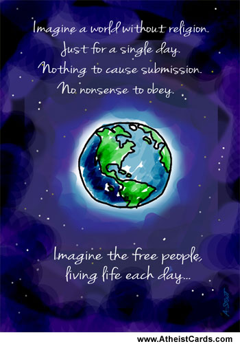 Earth Card - Living Life Each Day