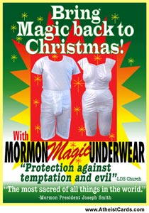 Mormon Magic Underwear