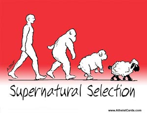 Supernatural Selection