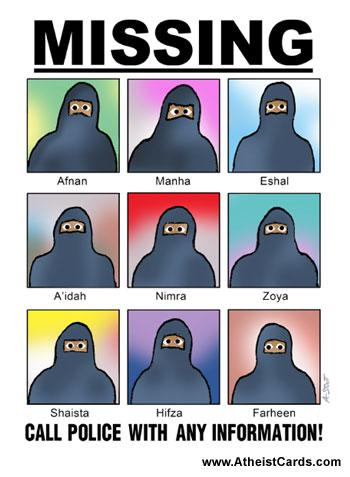 Missing Women Card