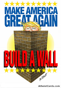 Build a Wall… around Trump!
