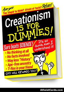 Creationism is For Dummies