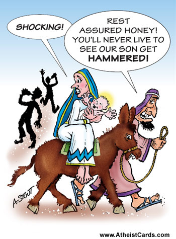 Mary Will Never See Jesus Get Hammered!