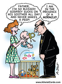 Priest Witnesses Miracle