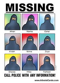 Missing Muslims!