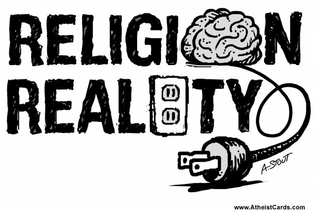 Religion Isn't Plugged Into Reality