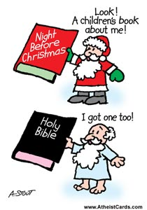 God & Santa Children's Books