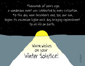 Warm Wishes on Your Winter Solstice